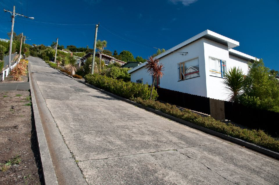 Une rue made in Nouvelle-Zélande