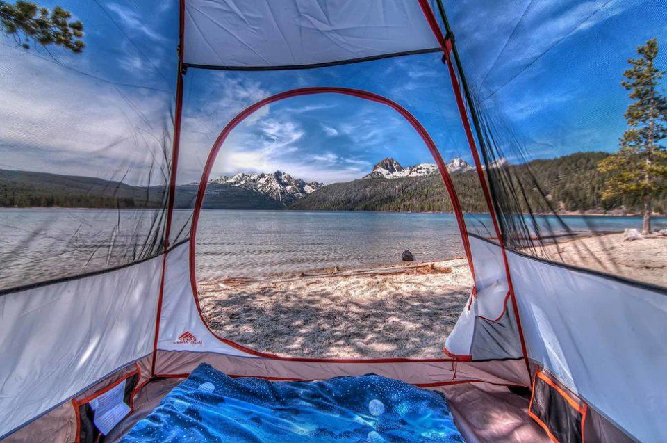 # Redfish Lake, Idaho (Etats-Unis)
