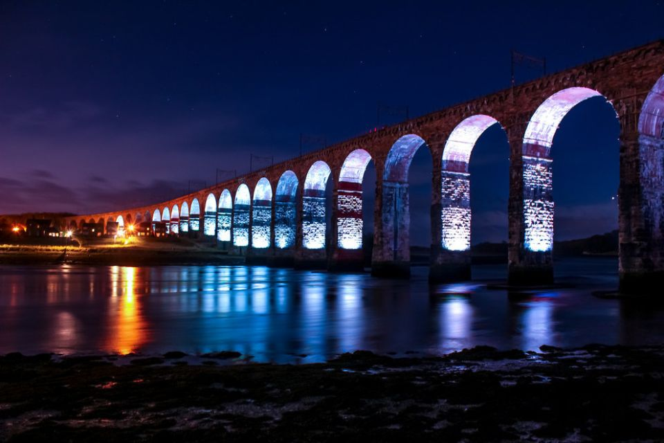 Berwick border bridge