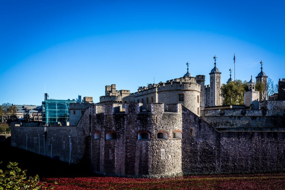 The Tower of London receives three million visitors per year