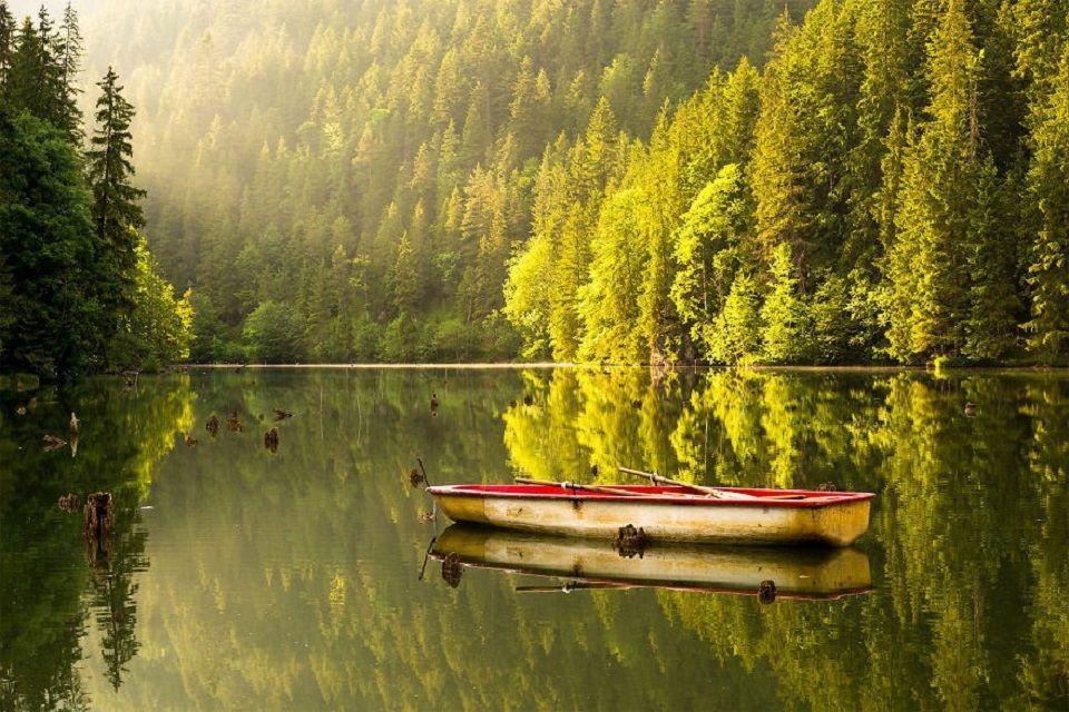 #4 Der Rote See, ein natürlicher Stausee in der Nähe von Gheorgheni