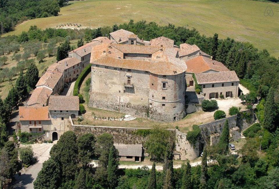 Le château de dos