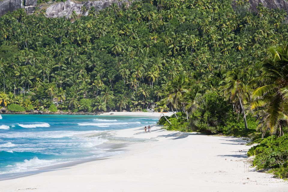 The island is home to over eight miles of unspoilt beaches