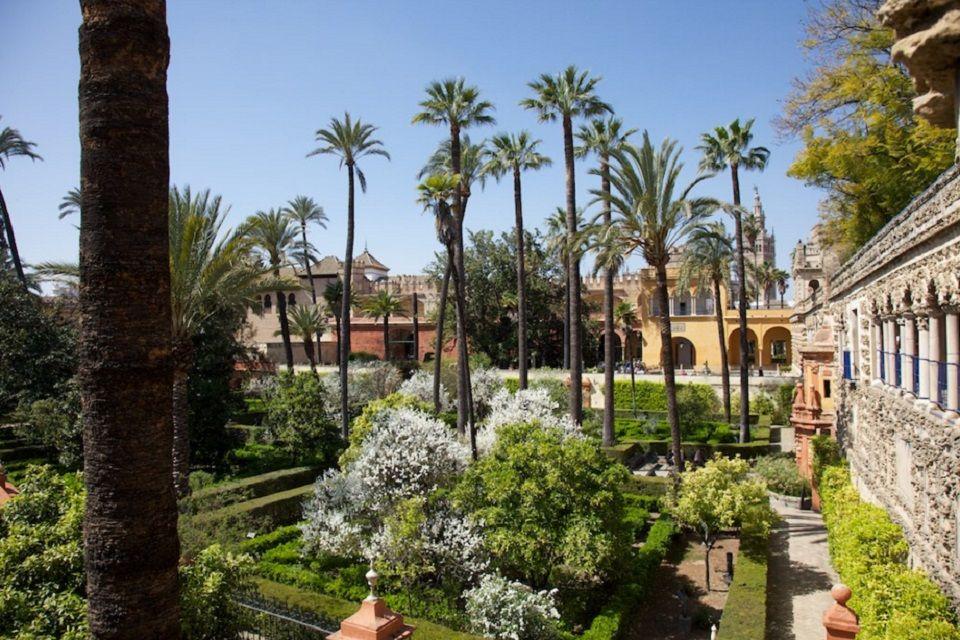 Alcazar-Gärten, Sevilla