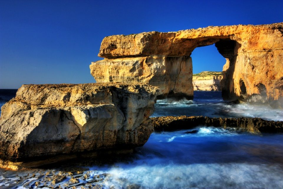 Das blaue Fenster, Malta