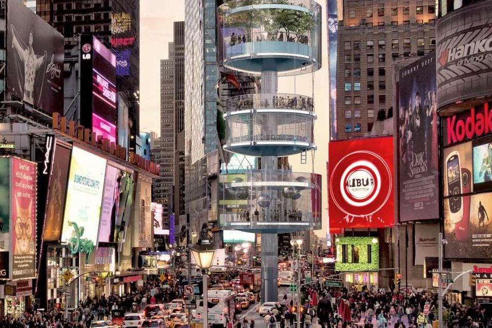Au cœur de Times Square