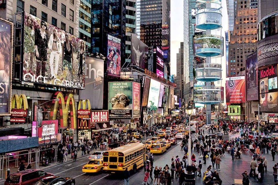 Le carrefour le plus animé de New York