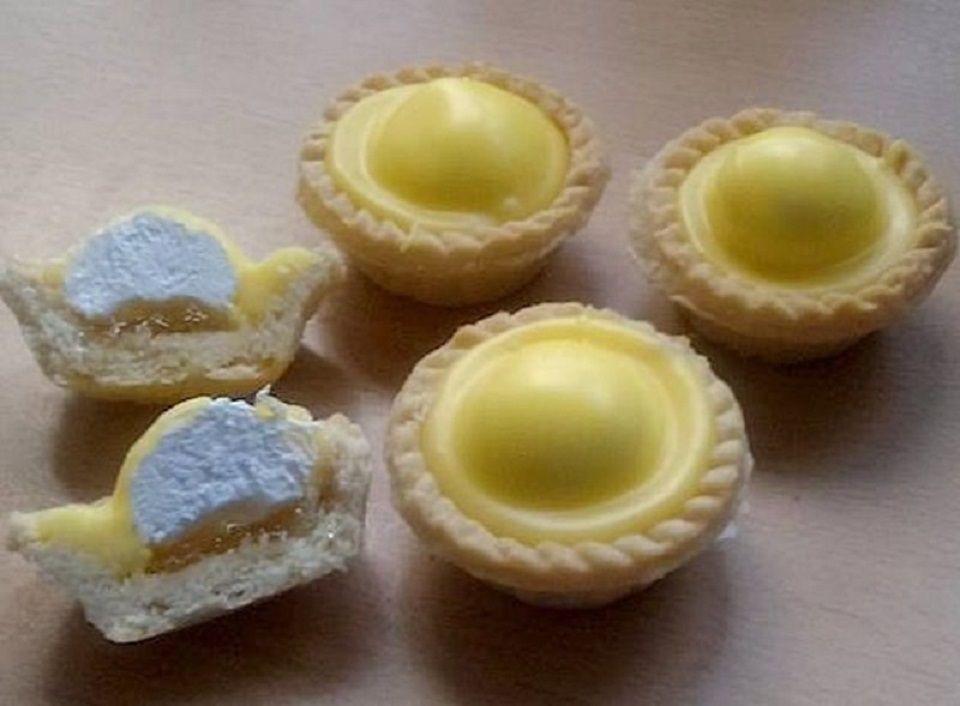#3 Iced Pineapple Cream Tarts