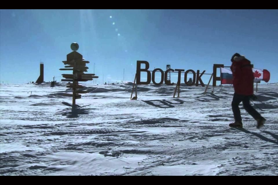 The coldest place on Earth: Vostok, Antarctica
