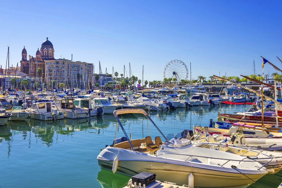 Puerto de Saint-Raphael