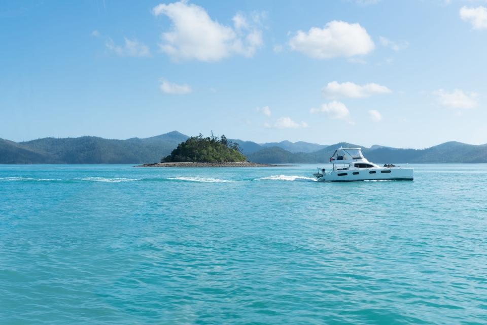 Croisière dans l'archipel des Whitsundays