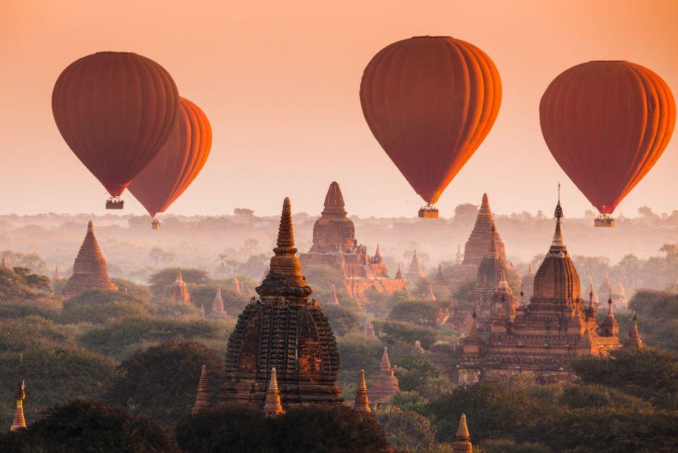 S'envoler en Birmanie...