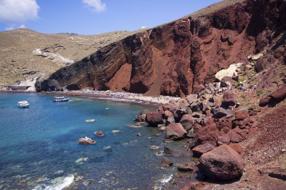 La Playa Roja, Red Beach