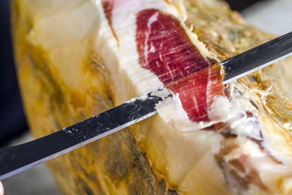 2) Le jambon pata negra en Espagne