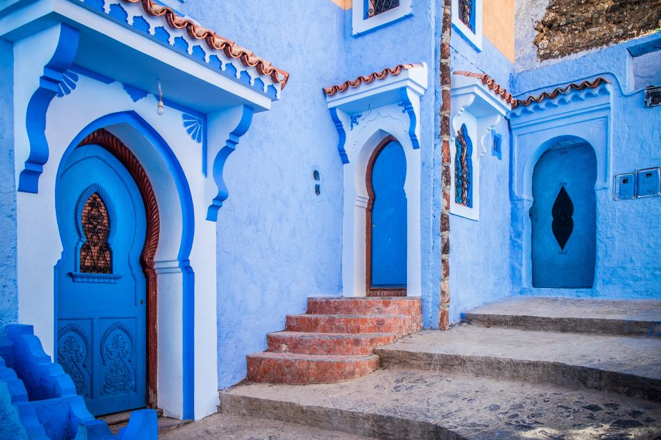 La magnifique médina bleutée de la ville marocaine