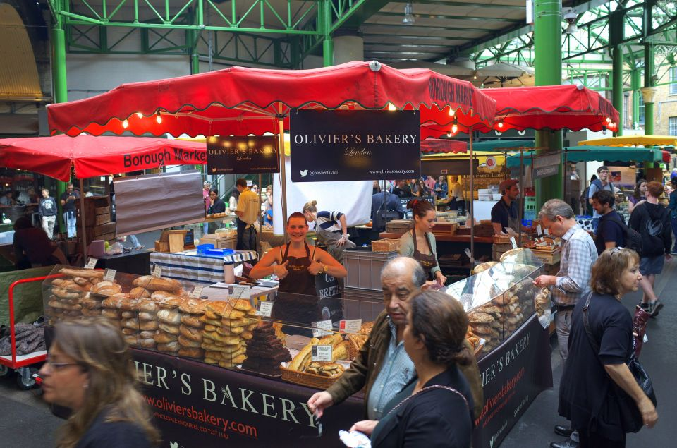 5) Borough Market à Londres, Angleterre