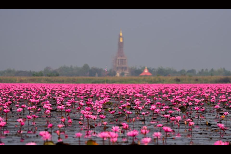 1 - Le lac Nong Han en Thaïlande