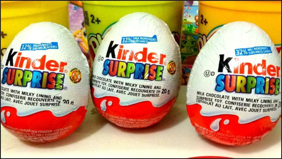 Kinder Eggs in the USA