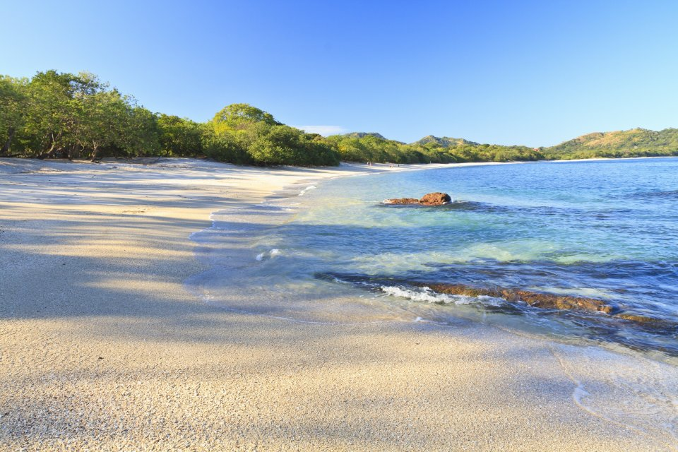 3) La playa Conchal