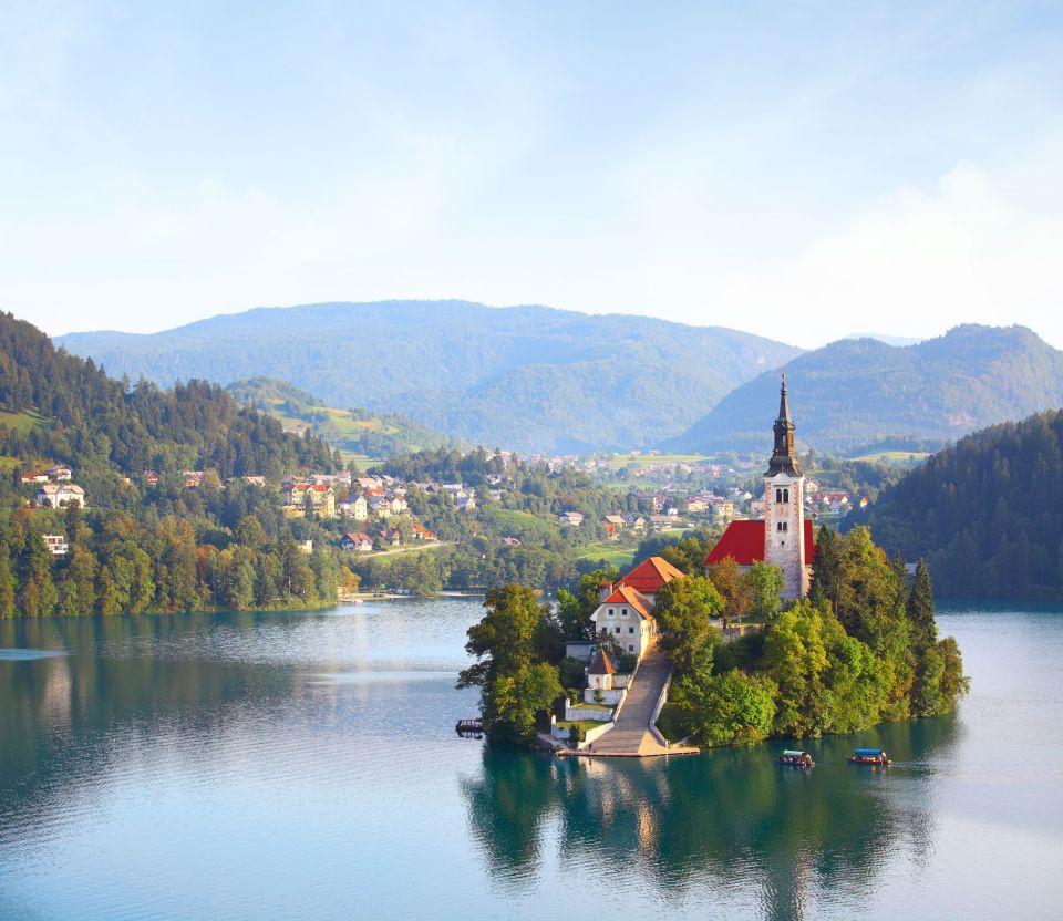 4) Bled, Slovénie