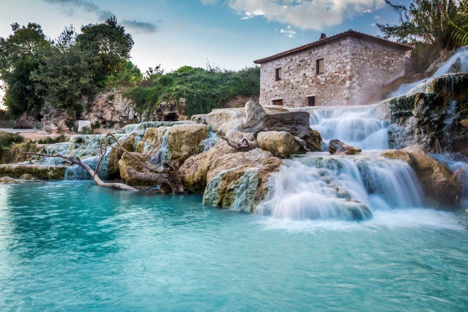 Il castello di cotone delle terme di saturnia easyviaggio - Lago pontini san piero in bagno ...