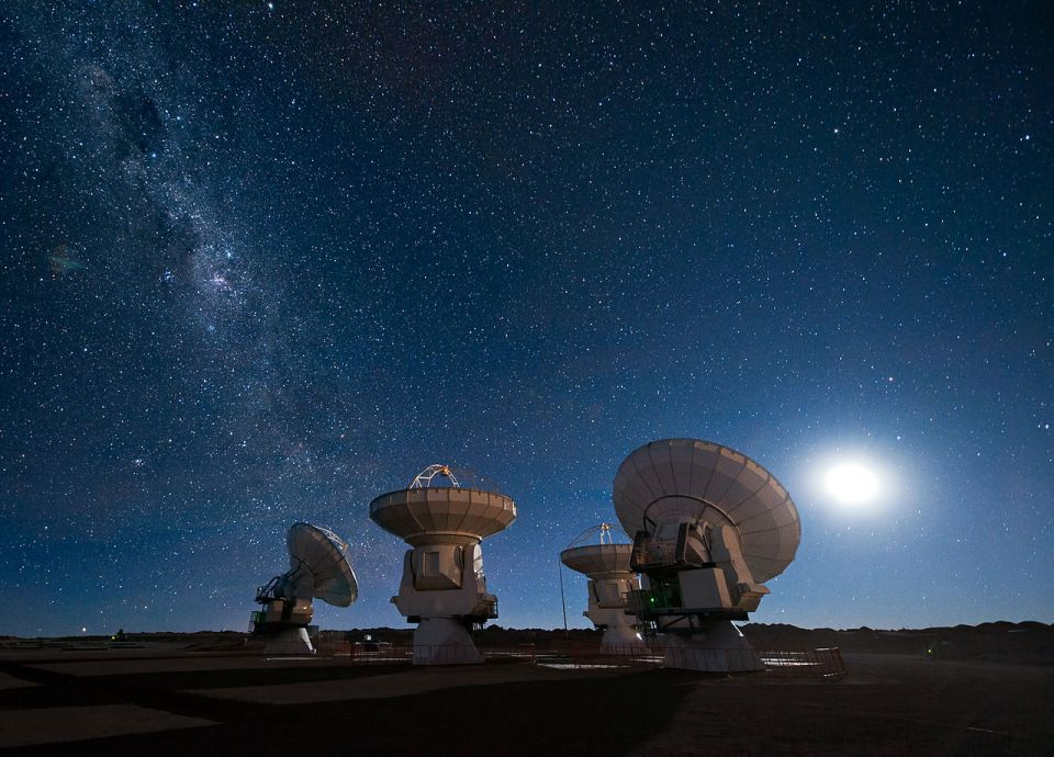 AURA Observatory, Chile