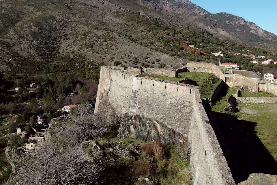 Corte et la vallée de la Restonica