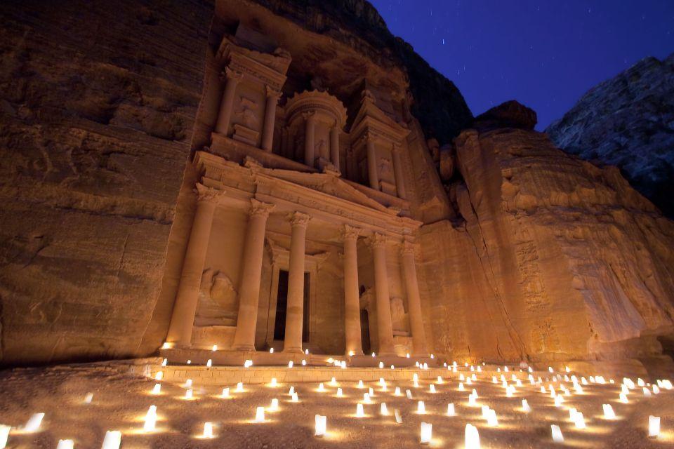 Voir Pétra en Jordanie