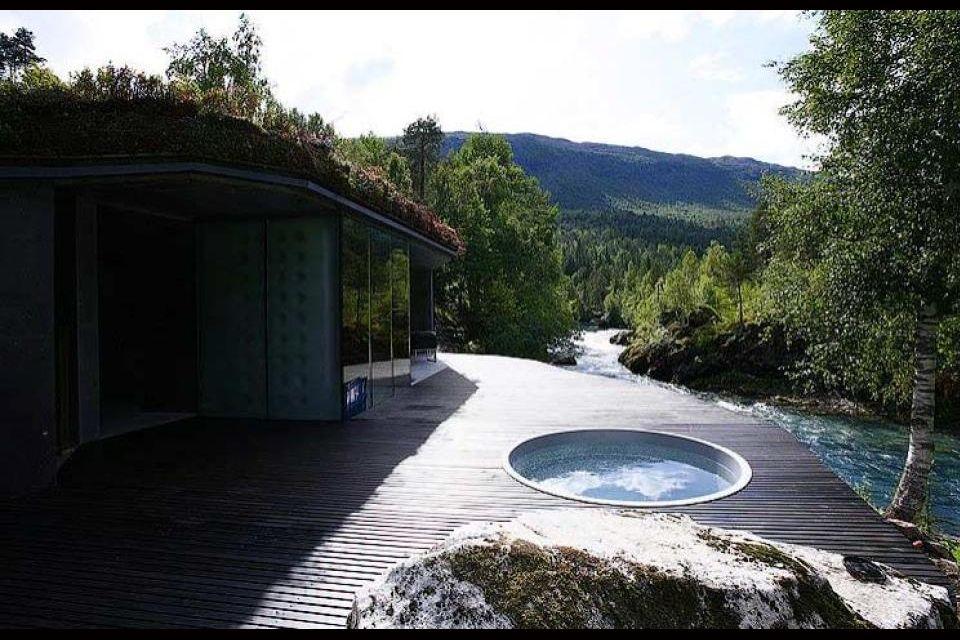 Hôtel Juvet - Norvège