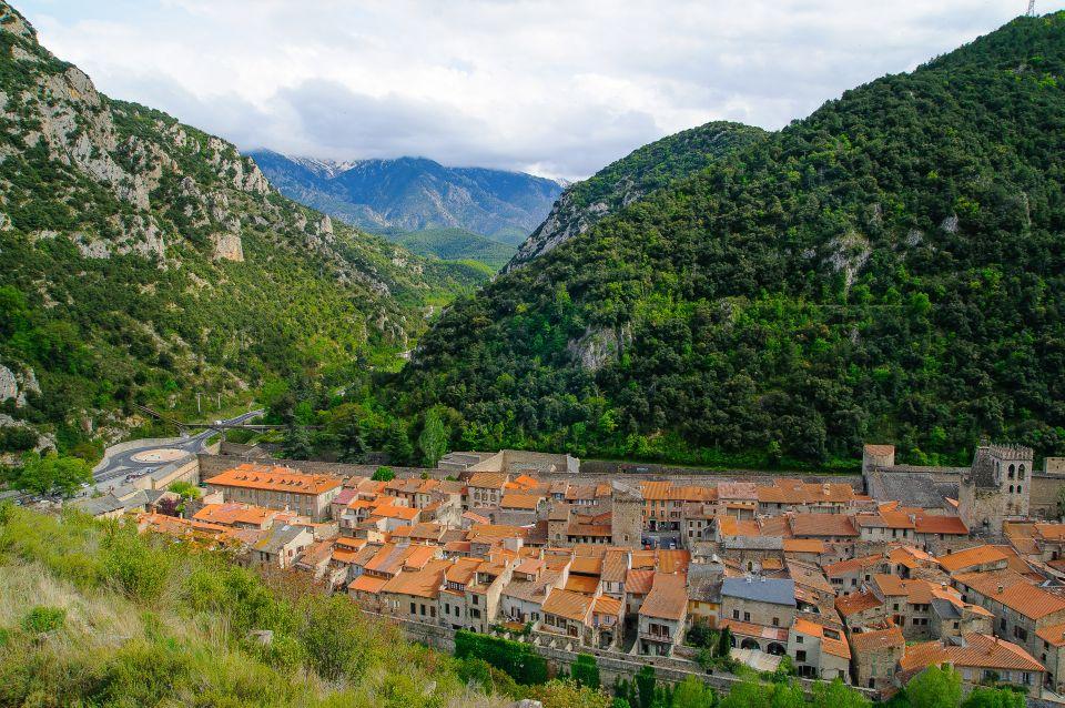 Villefranche-de-Conflent dans les Pyrénées Orientales