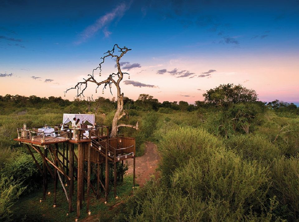 Lion Sands Private Game Reserve in Sudafrica