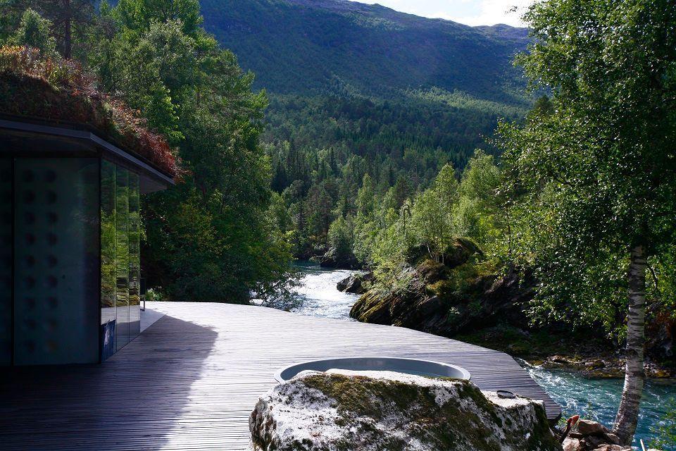 Juvet Landscape Hotel in Norvegia