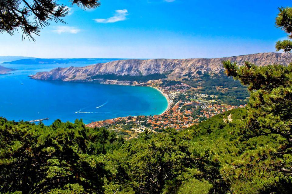 La magnifique baie de Kvaner, au nord de la Croatie