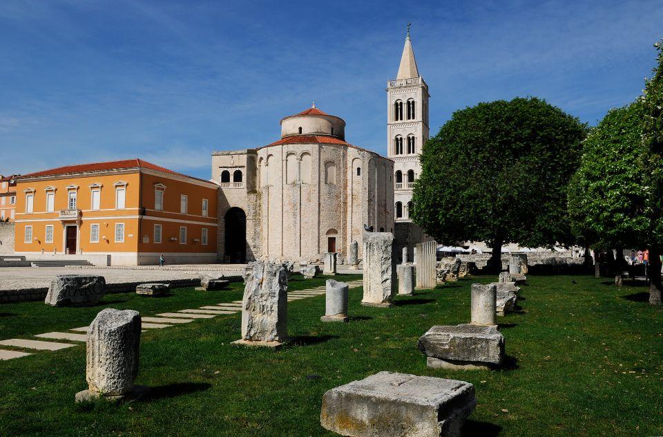 Zadar, si tranquille sur sa presqu'île en Dalmatie