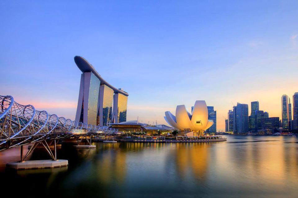 Ce La Vi est sur le toit du Marina Bay Sands de Singapour