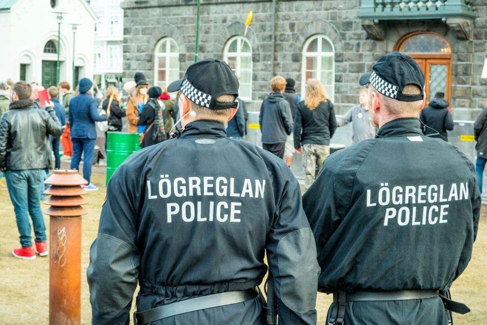 Une police sans armes à feu