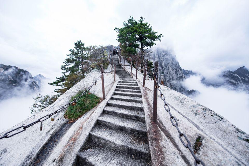 Le chemin dans les nuages