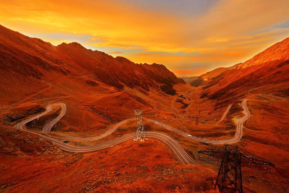 La carretera de Transfagarasan, Rumania