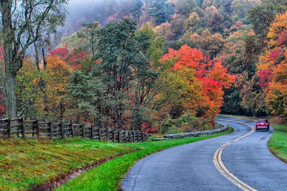Blue Ridge Parkway, Virginia y Carolina del Norte, Estados Unidos