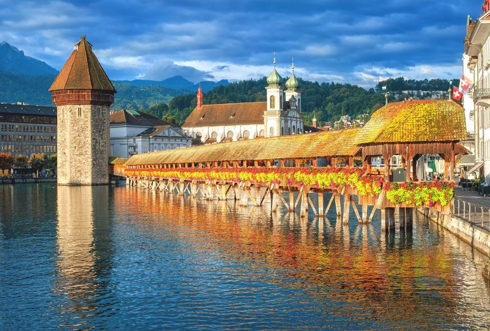 Kapellbrücke - Lucerne, Switzerland