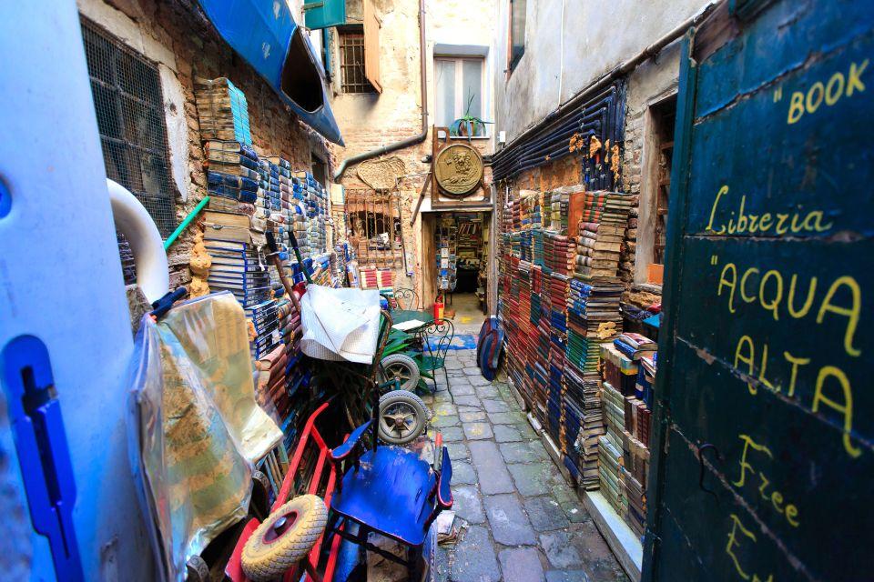 Libreria Acqua Alta-  Venice, Italy