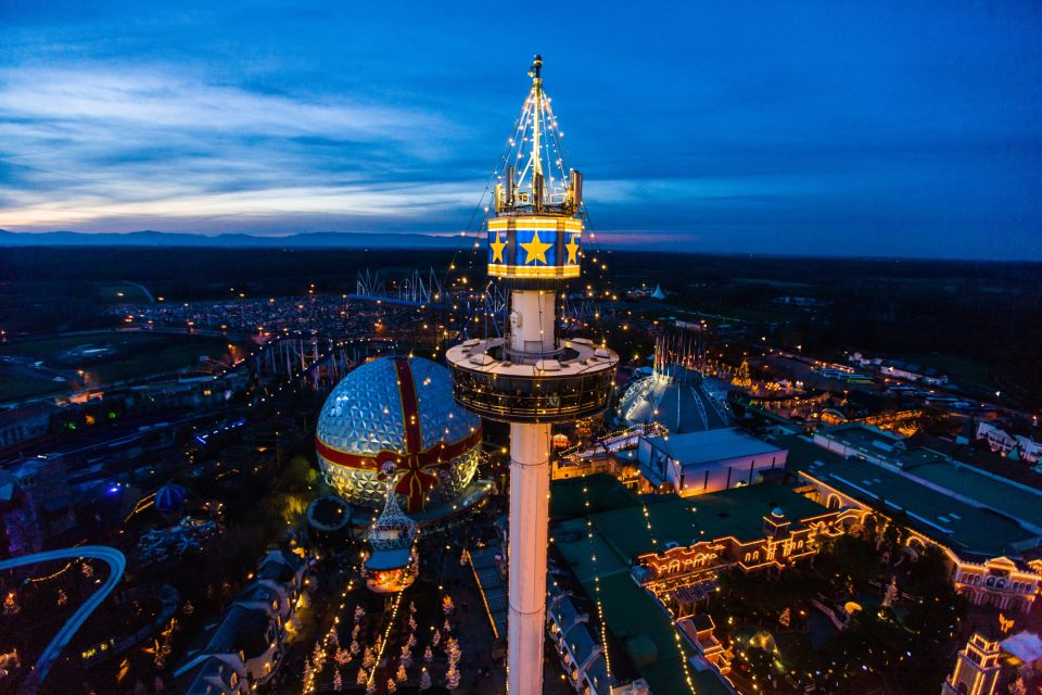 Germany 39 s biggest theme park prepares for christmas for Sejour complet europa park