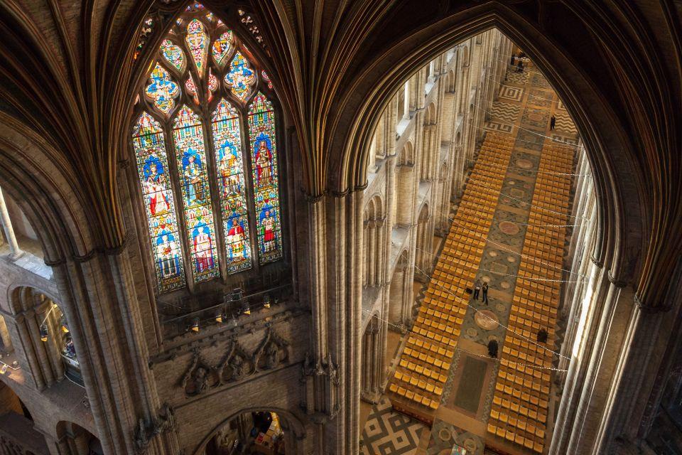 L'intérieur de Ely Cathedral, Cambridge, Angleterre
