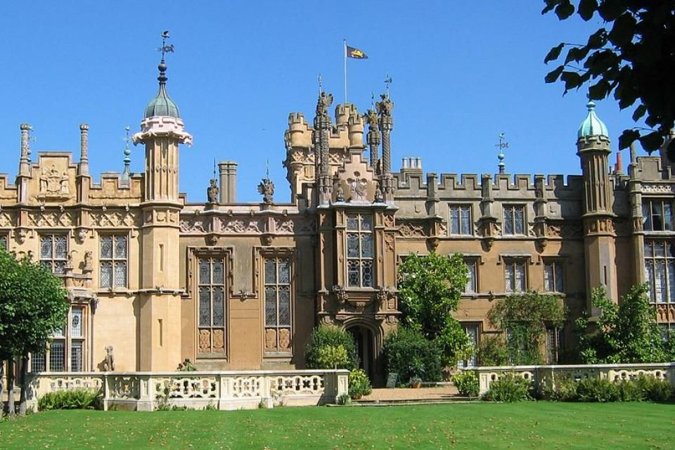 Knebworth House, Royaume-Uni