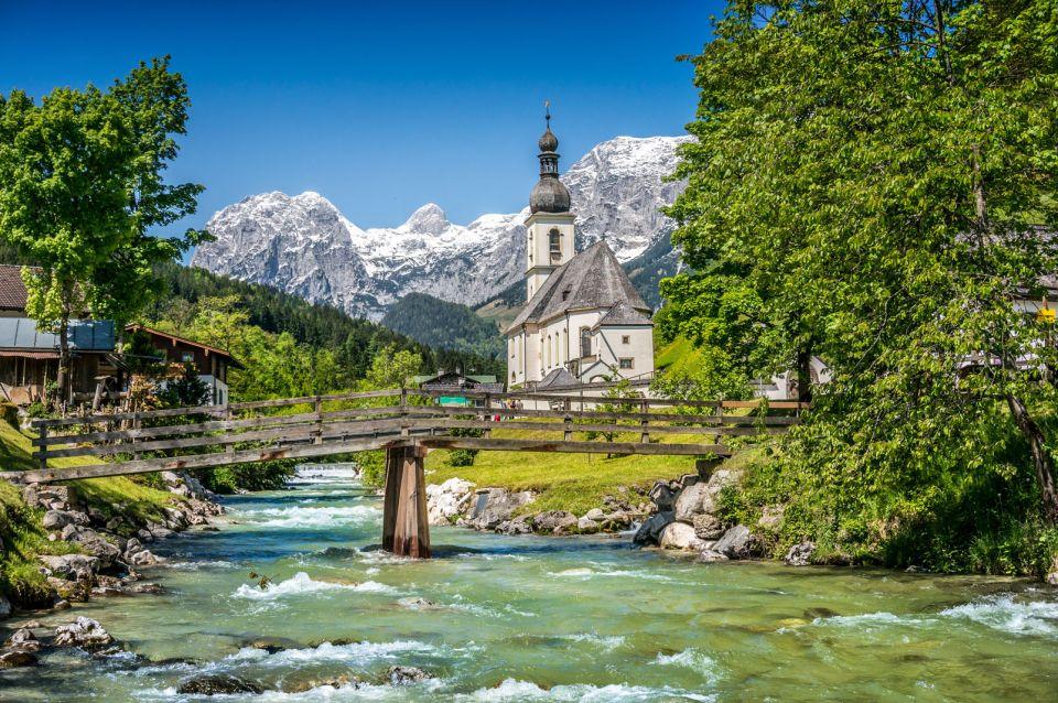 Parque nacional de Berchtesgaden en verano
