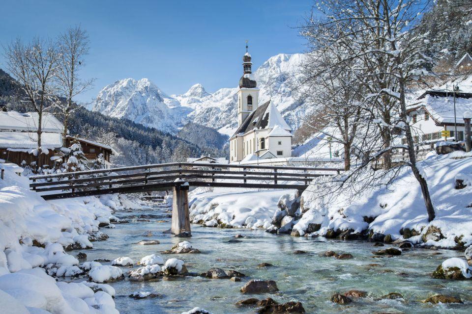 Parque nacional de Berchtesgaden en invierno