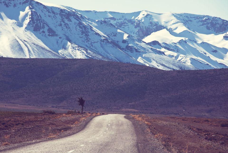 La catena montuosa dell'Atlante, Africa