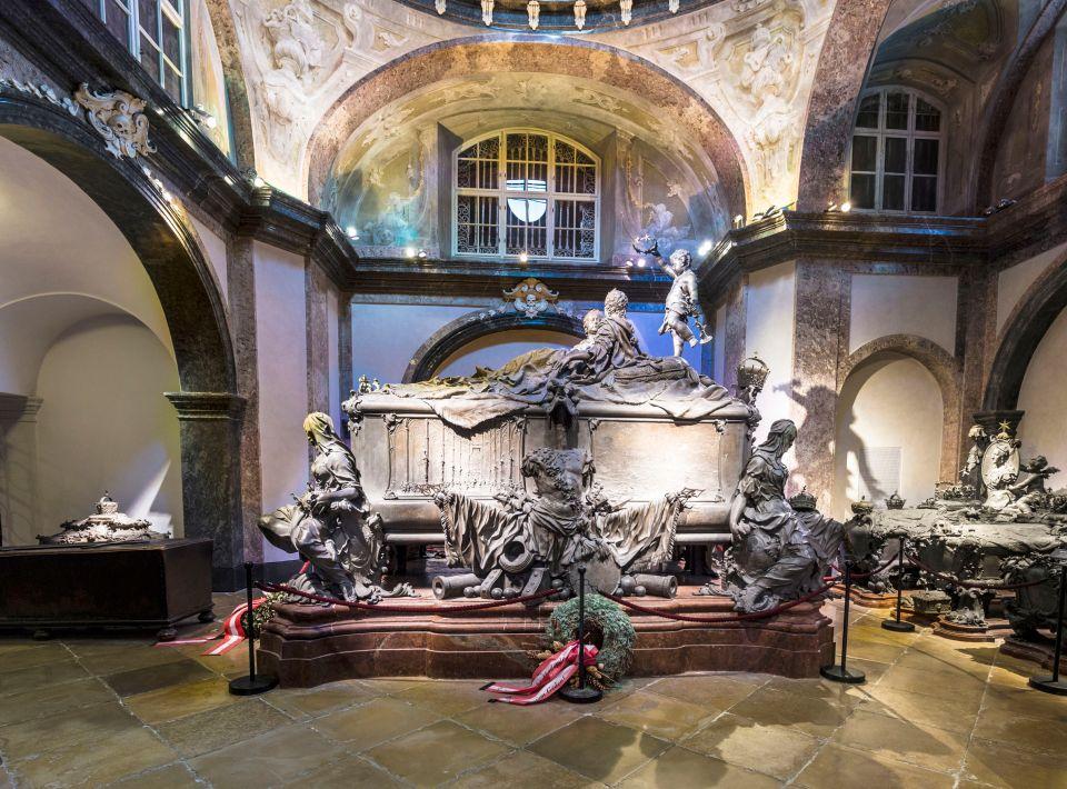 La crypte impériale sous l'église des Capucines
