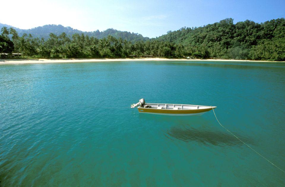 Pulau Tioman. Malaysia