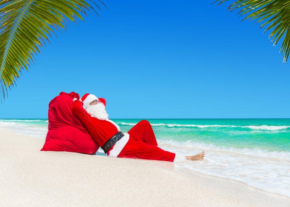 Noël sur la plage en Australie
